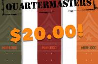 $20.00 Quartermasters!