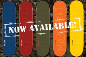 NEW Mini Logo MILITANT Decks are Now Available!