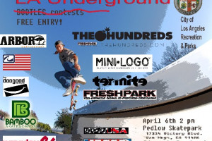 Come to the LA Underground Skate Contest at Pedlow Park this weekend and hang with the Official MILITANTS!