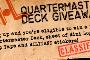 New QUARTERMASTER Deck Contest!