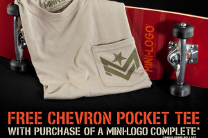Free Chevron Tee with Complete!