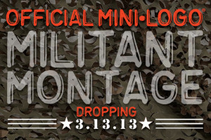ATTENTION!  Official Mini Logo MILITANT MONTAGE is coming!!!!