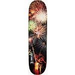 Mini Logo Small Bomb Skateboard Deck 170 Fireworks- 8.25 x 32.5