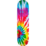 Mini Logo Small Bomb Skateboard Deck 112 Tie-Dye - 7.75 x 31.75