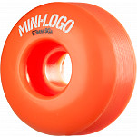 Mini Logo Wheel Hybrid C-cut 53mm 90A Orange 4pk