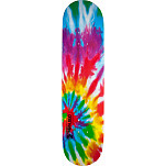 Mini Logo Small Bomb Skateboard Deck 248 Tie Dye - 8.25 x 31.95