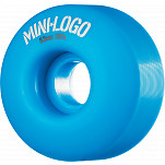Mini Logo Wheel C-cut 53mm 101A Blue 4pk