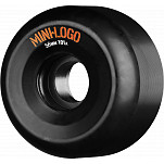Mini Logo A-cut Wheel 56mm 101a Black 4pk