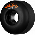 Mini Logo Wheel C-cut 52mm 101A Black 4pk
