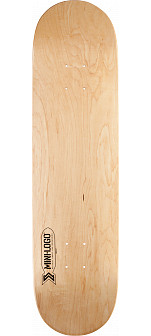 Mini Logo Small Bomb Skateboard Deck 248 Natural - 8.25 x 31.95