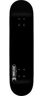 Mini Logo Small Bomb Skateboard Deck 248 Black - 8.25 x 31.95