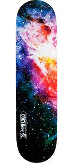Mini Logo Small Bomb Skateboard Deck 170 Cosmic - 8.25 x 32.5