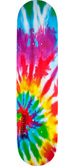 Mini Logo Small Bomb Skateboard Deck 170 Tie-Dye - 8.25 x 32.5