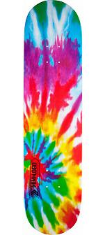 Mini Logo Small Bomb Skateboard Deck 170 Tie-Dye - 8.25 x 32.5