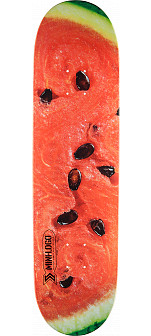 Mini Logo Small Bomb Skateboard Deck 248 Watermelon - 8.25 x 31.95