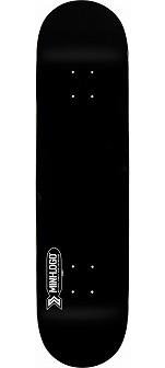 Mini Logo Small Bomb Skateboard Deck 127 Black - 8 x 32.125