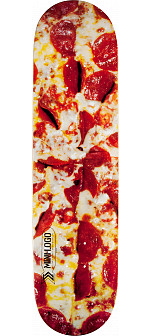 Mini Logo Small Bomb Skateboard Deck 248 Pizza - 8.25 x 31.95