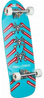 Powell Peralta Vato Rat Bones Custom Complete Skateboard Blue - 10 x 31