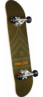 Mini Logo 188 Custom Complete Skateboard -  7.88 x 31.67