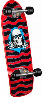 Ripper OG Custom Complete Skateboard Red - 10 x 31
