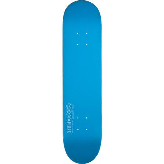 Mini Logo 124 K12 Skateboard Deck Blue - 7.5 x 31.375