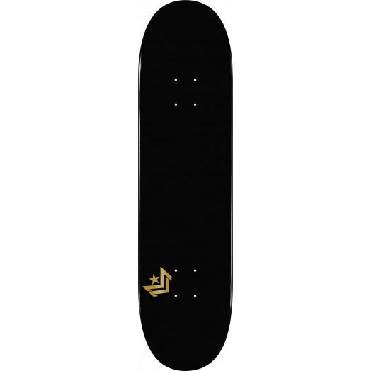 Mini Logo Chevron Skateboard Deck 248 Black - 8.25 x 31.95