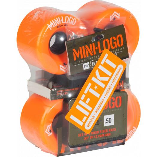 Mini Logo A.W.O.L. Lift Kit 66mm Orange Wheel