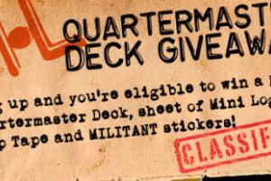 New QUARTERMASTER Deck Contest!