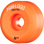Mini Logo Skateboard Wheel A-cut 56mm 101A Orange 4pk
