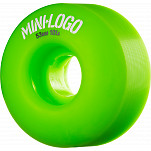 Mini Logo Wheel C-cut 53mm 101A Green 4pk