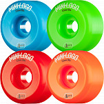 Mini Logo Skateboard Wheel A-cut 53mm 90A Assorted 4pk