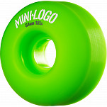 Mini Logo Wheel C-cut 54mm 101A Green 4pk