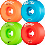 Mini Logo Skateboard Wheel A-cut 53mm 101A Assorted 4pk