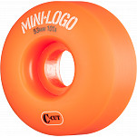 Mini Logo Skateboard Wheel C-cut 53mm 101A Orange 4pk
