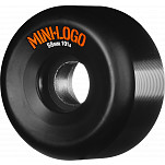 Mini Logo Wheel 58mm 101a 4pk Black