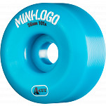 Mini Logo Skateboard Wheel A-cut 56mm 101A Blue 4pk