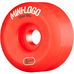 Mini Logo Skateboard Wheel A-cut 55mm 101A Red 4pk
