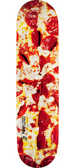 Mini Logo Small Bomb Skateboard Deck 124 Pizza - 7.5 x 31.375