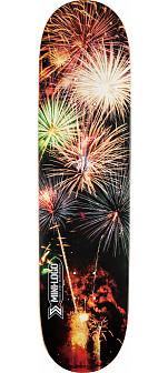 Mini Logo Small Bomb Skateboard Deck 112 Fireworks - 7.75 x 31.75