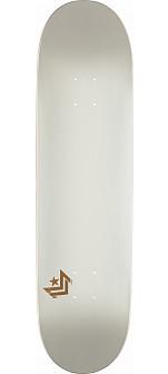 Mini Logo Chevron Skateboard Deck 112 Pearl White - 7.75 x 31.75