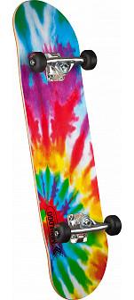 Mini Logo Small Bomb 124 Custom Complete Skateboard -  7.5 x 31.375