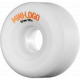 Mini Logo Wheel A-Cut 52mm 101a White4 pk