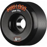 Mini Logo Skateboard Wheel A-cut 54mm 101A Black 4pk