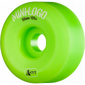 Mini Logo Skateboard Wheel A-cut 56mm 101A Green 4pk