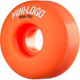 Mini Logo Wheel C-cut 52mm 101A Orange 4pk
