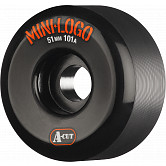 Mini Logo Skateboard Wheel A-cut 51mm 101A Black 4pk