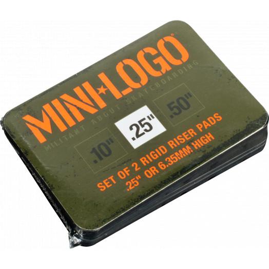 "Mini Logo Riser 3 single .25"" rigid pad"