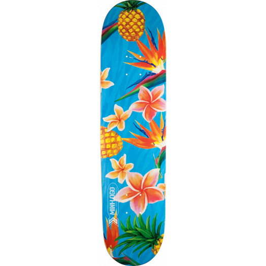 Mini Logo Small Bomb Skateboard Deck 124 Aloha - 7.5 x 31.375