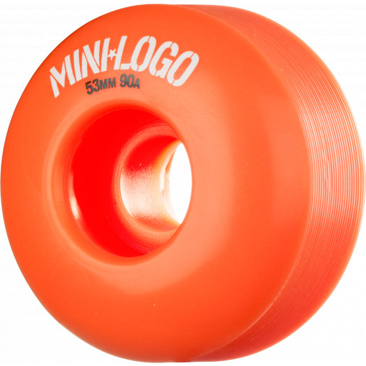 Mini Logo Wheel Hybrid C-cut 53mm 90A Orange 4pk