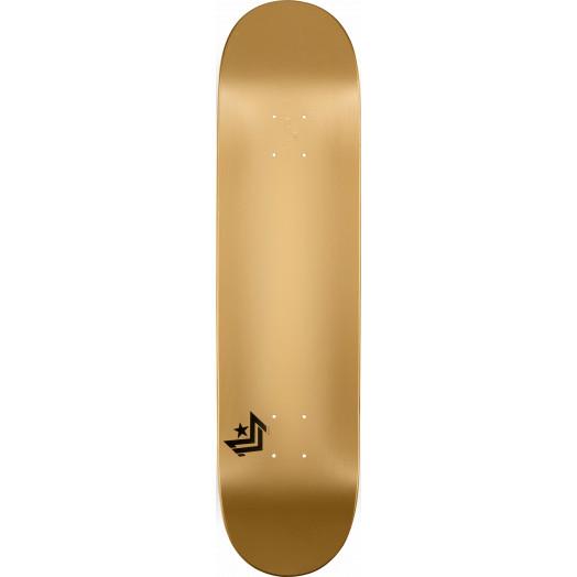 Mini Logo Chevron Skateboard Deck 170 Gold - 8.25 x 32.5